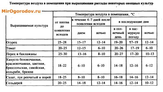 Температура воздуха для выращивания огурцов 564