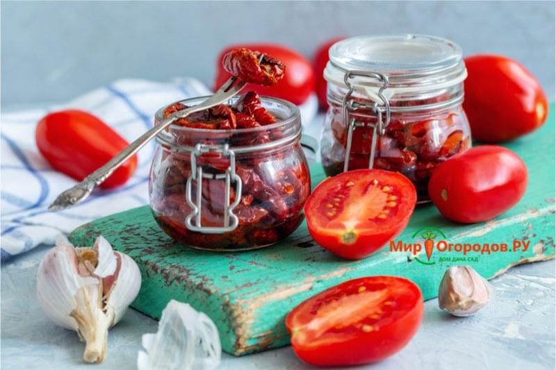 Вяленые помидоры сливки